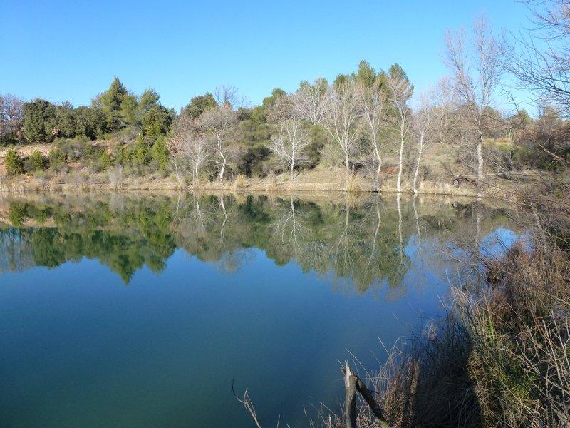 l'hiver à la cabrery dans Longo maï lac