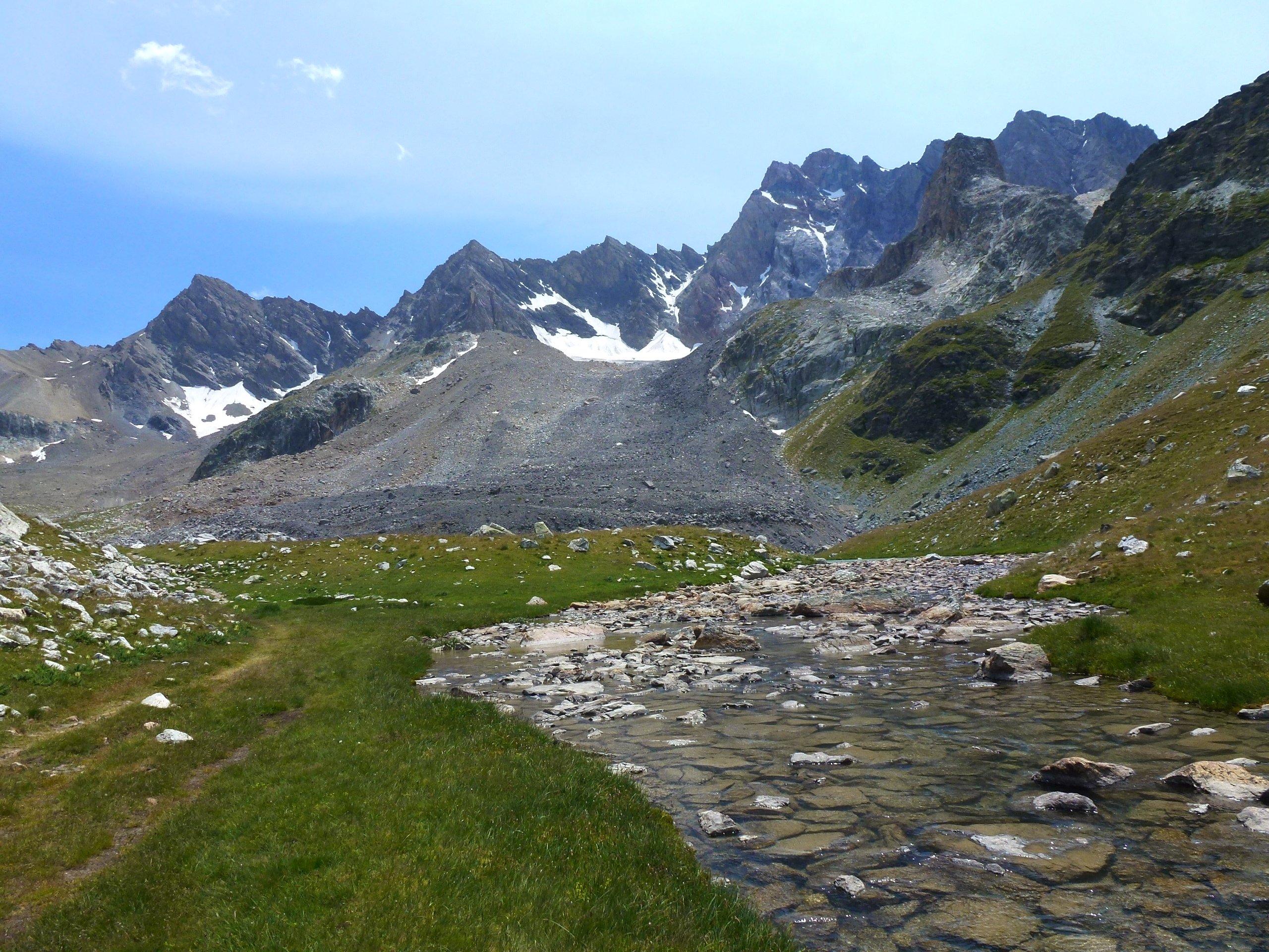 l'ancien glacier de Marinet